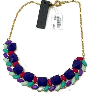 🆕 J. Crew Colorful Statement Necklace